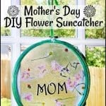 "Mother's Day ""Brave"" Inspired DIY Flower Suncatcher #MovieMonday"