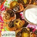 Fiesta Wonton Taco Cups