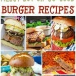 30 Messy But Good Burger Recipes