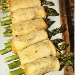 Asparagus Bacon Rollups #BrunchWeek