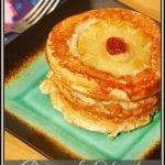 Pineapple Upside Down Pancakes #BrunchWeek