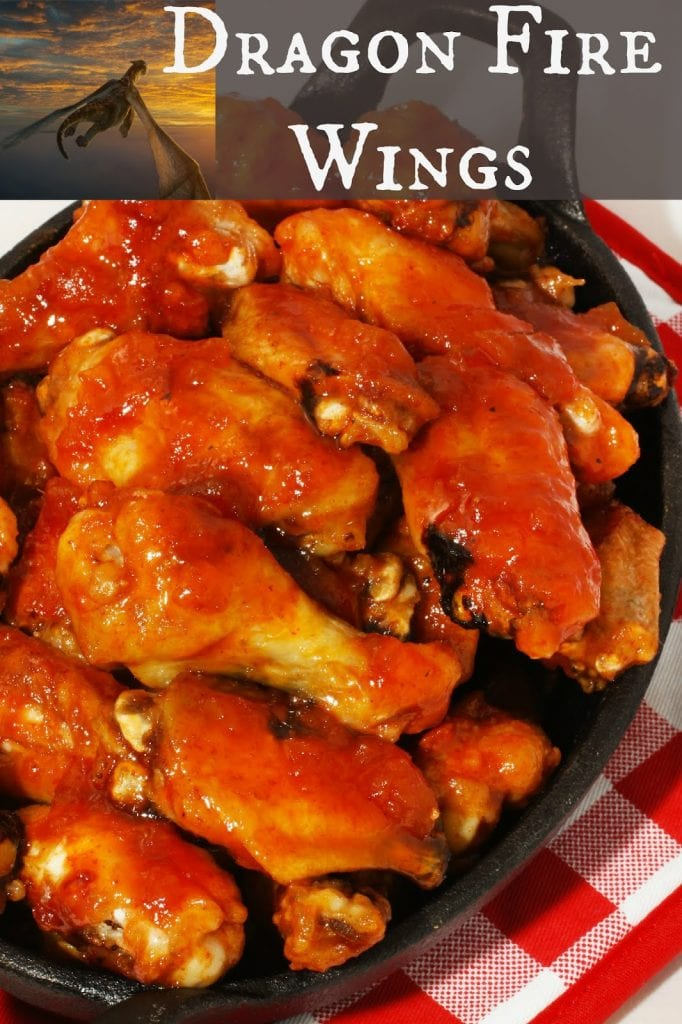Dragon Fire Chicken Wings
