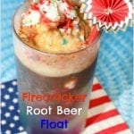 Firecracker Root Beer Float