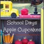School Days Apple Cupcakes