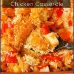 Chick-fil-A Polynesian Chicken Casserole