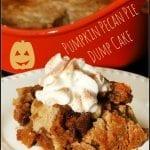 Pumpkin Pecan Pie Dump Cake #PumpkinWeek