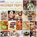 100+ Easy, Last Minute Halloween Treats