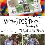 Military PCS Photos: Lost in the Woods Moving Announcement