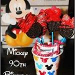 Mickey 90th Birthday Oreo Pops
