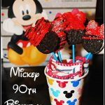 Mickey 90th Birthday Oreo Pops