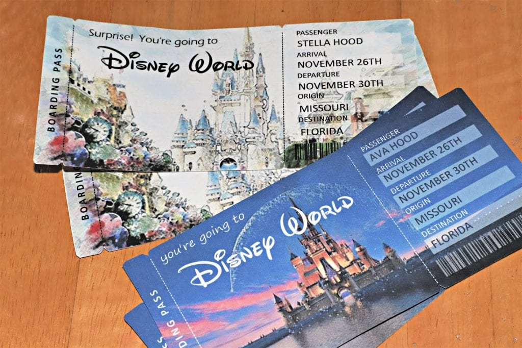 picture relating to Printable Disney Tickets referred to as Were being Heading In the direction of Disney World-wide !\