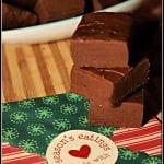 Christmas Chocolate Coffee Fudge #ChristmasSweetsWeek