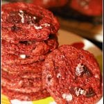 Red Velvet and Cream Cheese Oreo Cookies