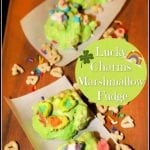 Lucky Charms Marshmallow Fudge