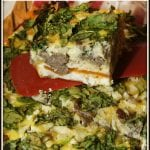 Healthy and Hearty Breakfast Casserole #RecipeMakeover
