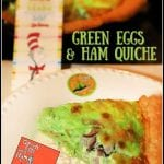 Green Eggs and Ham Quiche | Dr Seuss Day
