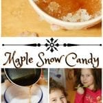 Maple Snow Candy