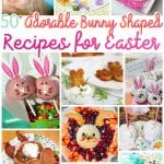 50+ Adorable Bunny Shaped Recipes for Easter