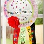 DIY Celebration Suncatcher + Fiesta Memories and Medals