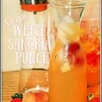 Virgin White Sangria Punch #EasterBrunchWeek
