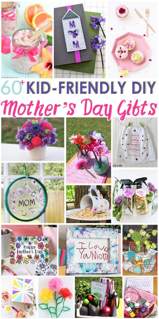 60 Kid Friendly Diy Mother S Day Gifts For The Love Of Food