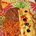 The Very Best Chicken Enchiladas
