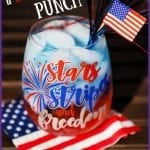 Patriotic Punch for 4th of July!