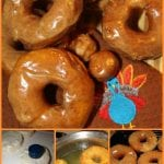 Biscuit Donuts with Pumpkin Pie Glaze