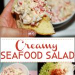 Creamy Deli Style Seafood Crab Salad