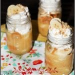 Homemade Mason Jar Banana Pudding #SummerDessertWeek