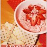 Strawberry Snow Ice Cream