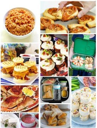 60+ Back to School Lunch Box Recipe Ideas