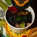 Slimy Yet Satisfying Dirt and Worms Sundae | Inspired by The Lion King