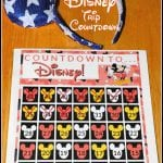 Disney Countdown Printable