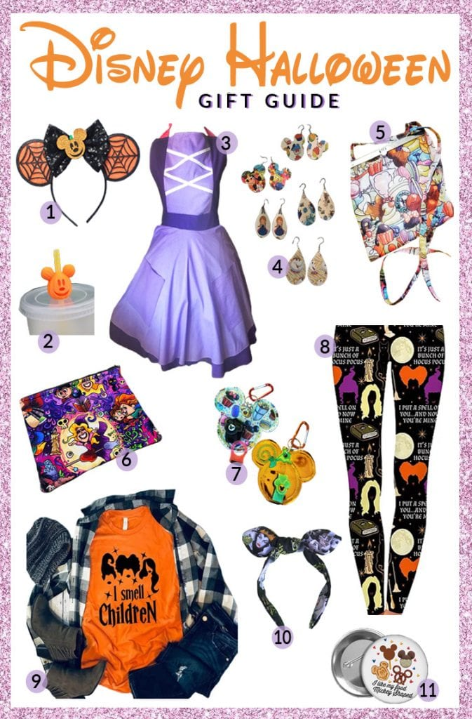 Disney Halloween Gifts and Goodies from Etsy