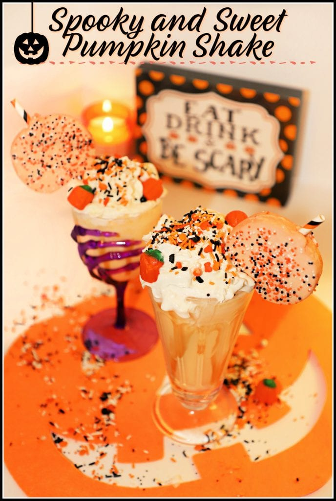 Halloween Pumpkin Milkshake