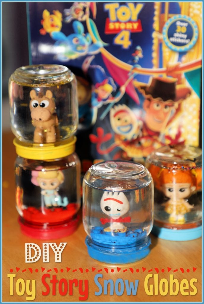 Toy Story 4 Snow Globes Craft
