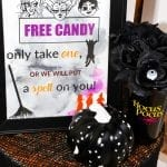 Hocus Pocus Free Halloween Candy Printable Sign