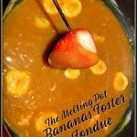 The Melting Pot Bananas Foster Fondue