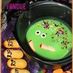Halloween White Chocolate Fondue