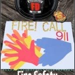 Kids Craft for Fire Prevention Month