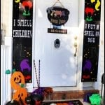 Disney's Hocus Pocus Door Decor