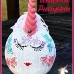 Easy Painted Unicorn Pumpkin