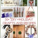 50+ DIY Holiday Crafts and Recipes | 12 Days of Christmas Blog Hop and Giveaway!