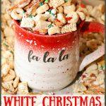 White Christmas Chex Mix