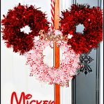 DIY Mickey Christmas Wreath | Dollar Tree Craft