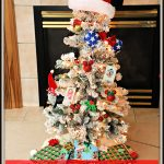 DIY Mickey and Minnie Mouse Disney Christmas Tree