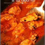 Crispy Buffalo Chicken Wings in the Crock-Pot
