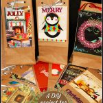 DIY Recycled Christmas Card Gift Bags