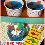 Red Fish Blue Fish Jello Cups | Dr Seuss Day